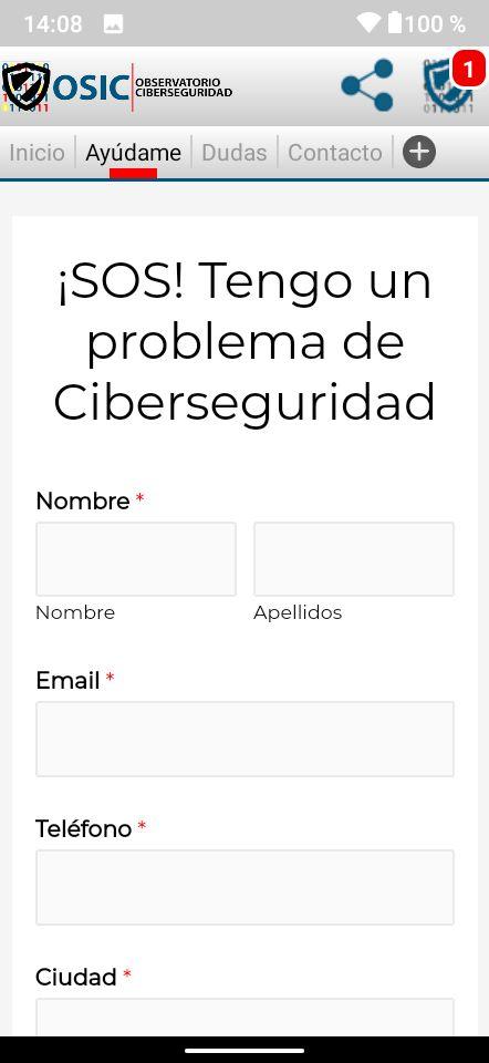 ayuda en ciberseguridad por ciberataque